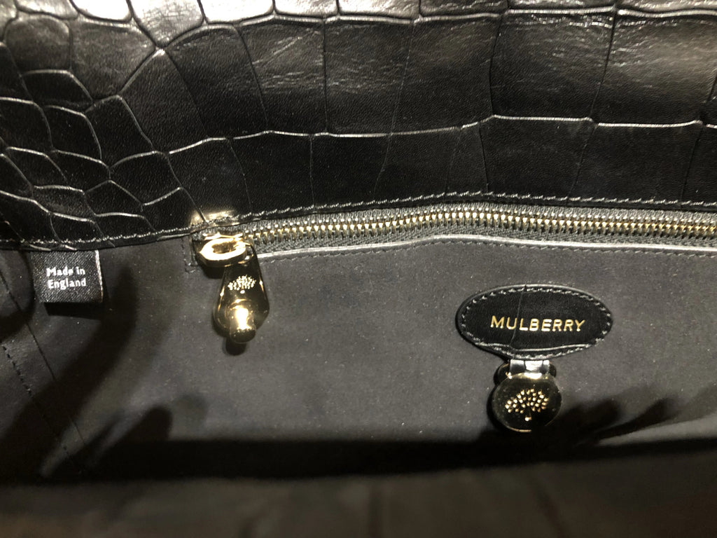 Embossed Roxette by Mulberry