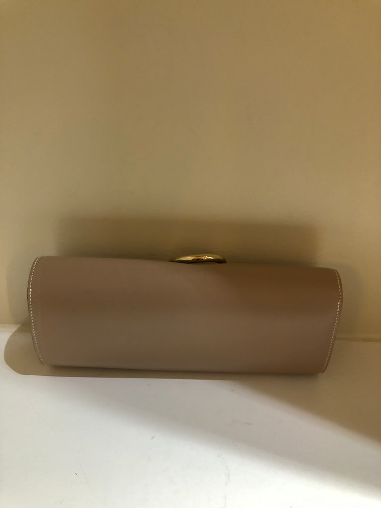 Egee Tadelakt Leather Clutch by Hermes