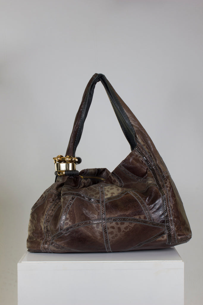 Saba Python Hobo Bag by Jimmy Choo