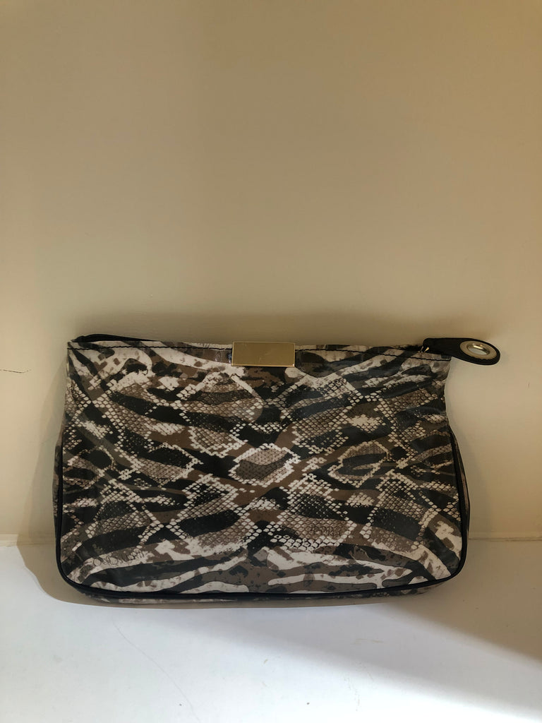 Animal Print Clutch by Jimmy Choo