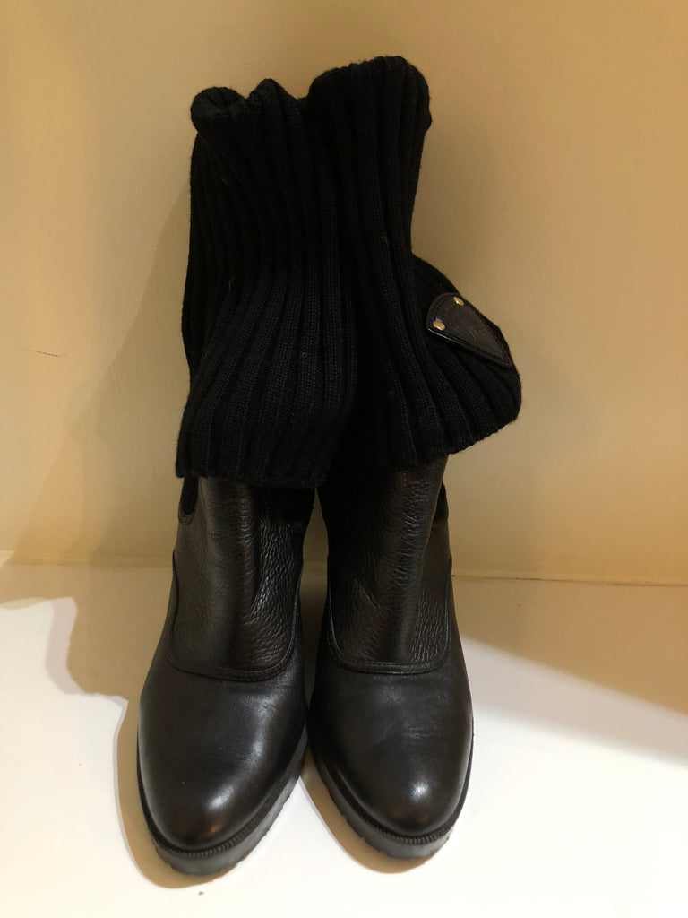 Wedge Sock Boots by Gucci