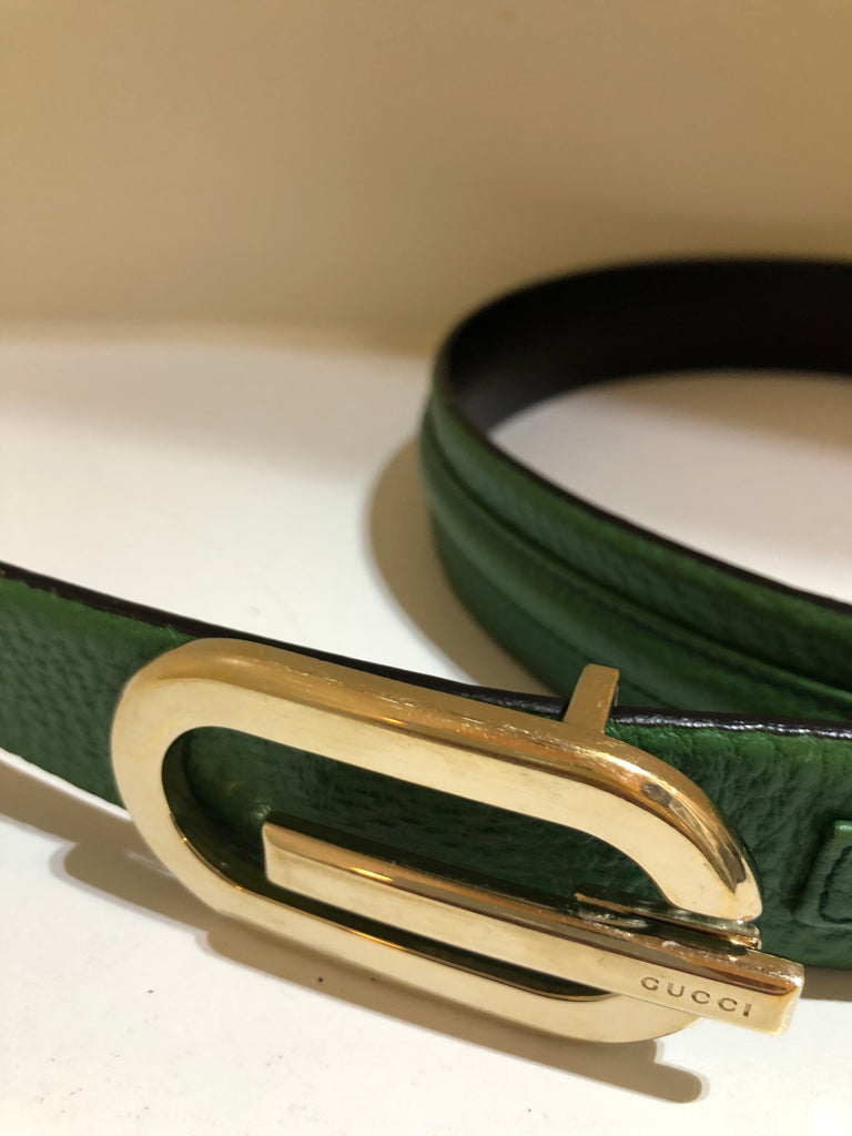 Leather Belt by Gucci