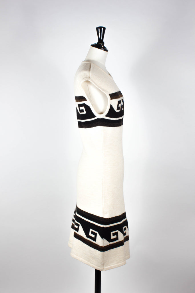 Aztec Print Knit Dress by Isabel Marant