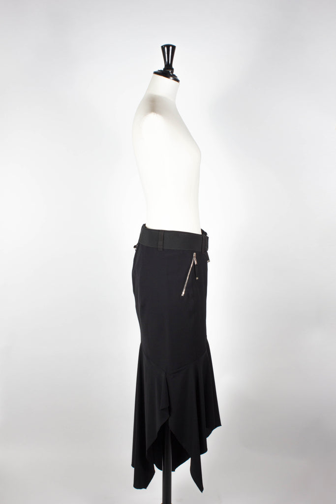 Long Asymmetric Skirt by HIGH
