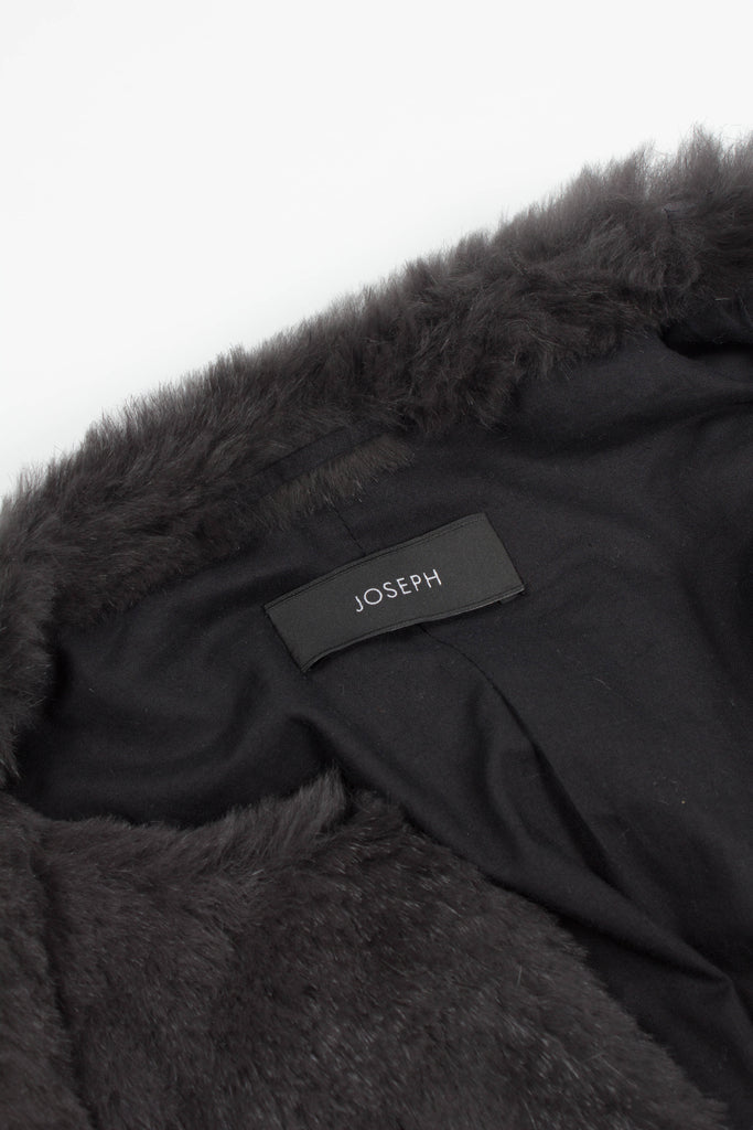 Rabbit Skin Coat by Joseph