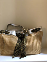 Raffia Positano Tote by Gucci at Isabella's Wardrobe