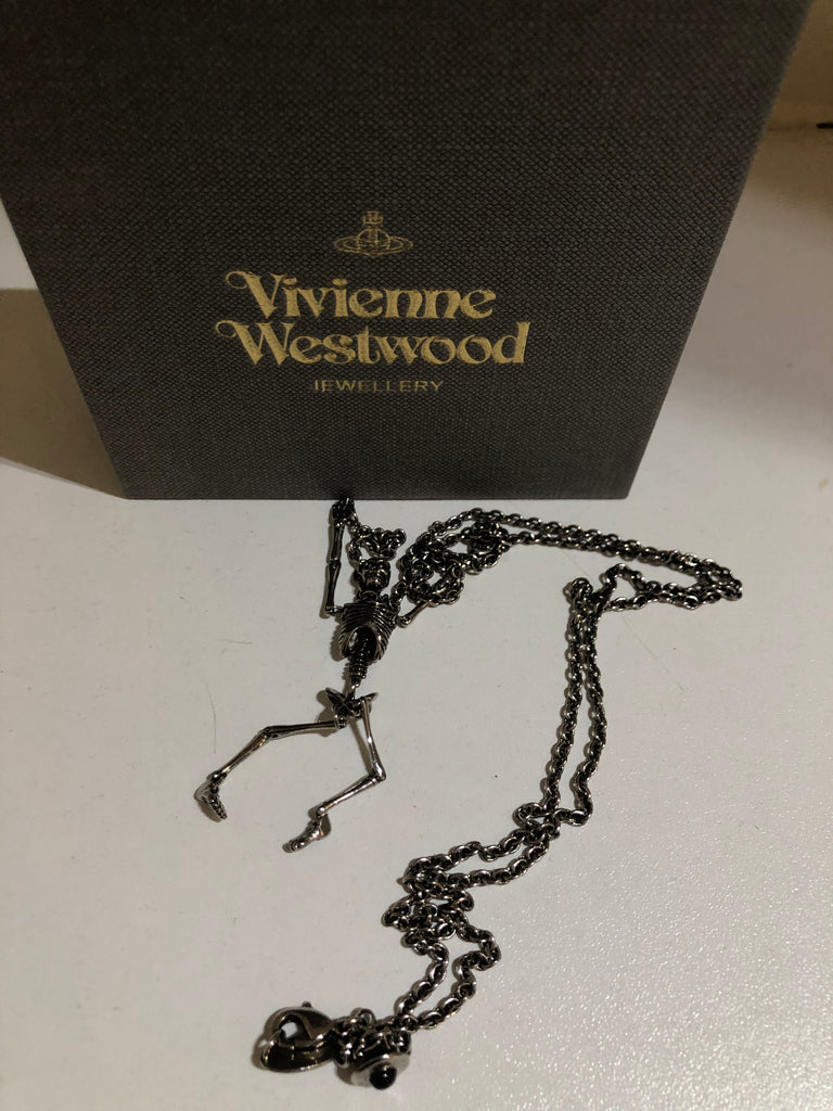 Skeleton Necklace by Vivienne Westwood