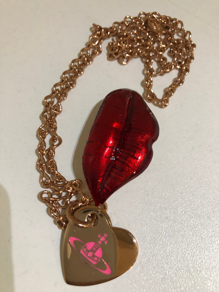 Red Lips Necklace by Vivienne Westwood