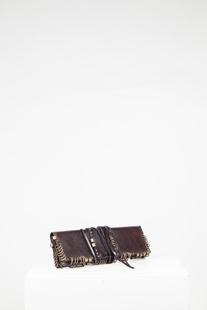 Safari clutch by Yves Saint Laurent
