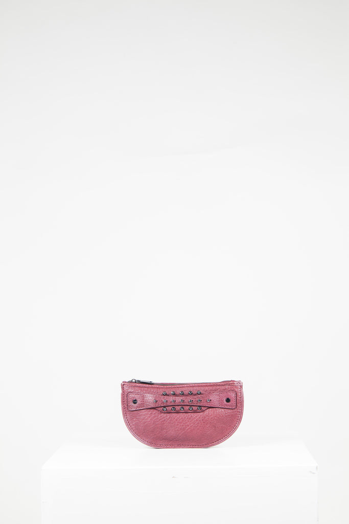 Studded panel clutch by McQ
