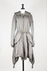 Heavy cotton parka by Marithe et Francois Girbaud at Isabella's Wardrobe
