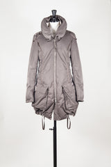 Padded jacket with concealed hood by Le Jean de MFG at Isabella's Wardrobe