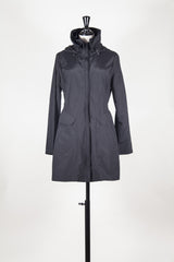 Parka jacket with concealed hood by Le Jean de MFG at Isabella's Wardrobe