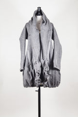 Oversized collar coat by Marithe et Francois Girbaud at Isabella's Wardrobe