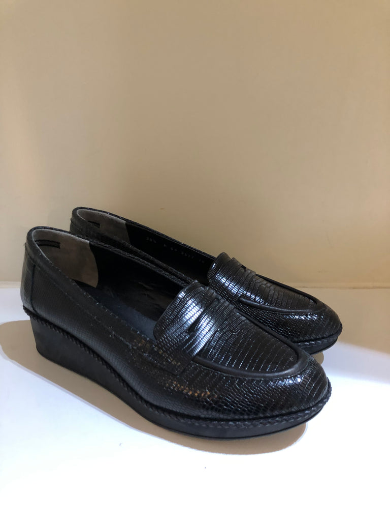 Crepe-soled Slip-on Shoes by Robert Clergerie
