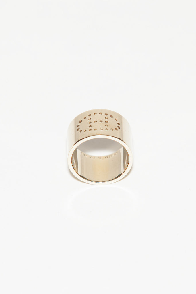 Evelyne H scarf ring by Hermes