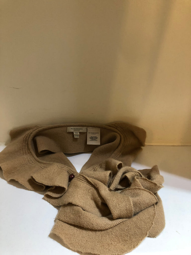 Camel Cashmere Collar by Burberry