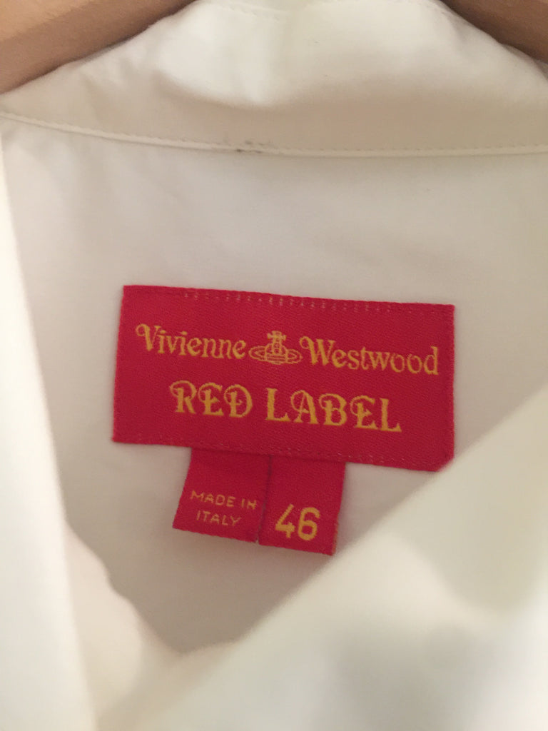 White Shirt by Vivienne Westwood Red Label