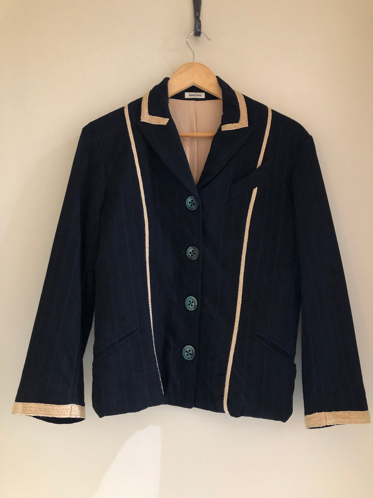 Striped Blazer by Voyage