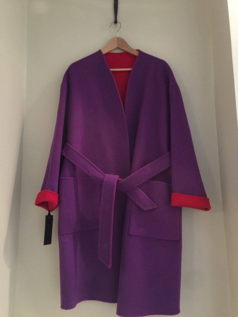 Micro Belted Coat by Pinko