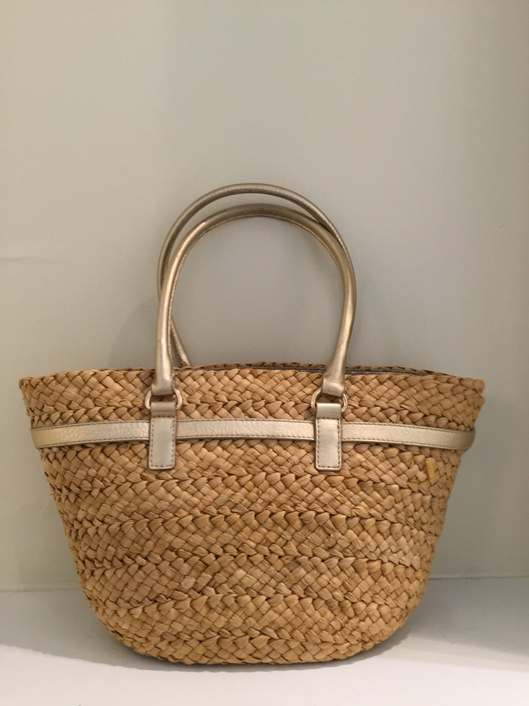 Straw Tote by Michael Kors