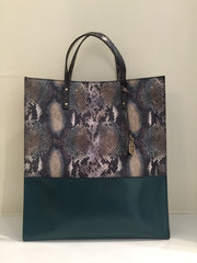 Mock Snake Tote Bag by Escada at Isabella's Wardrobe