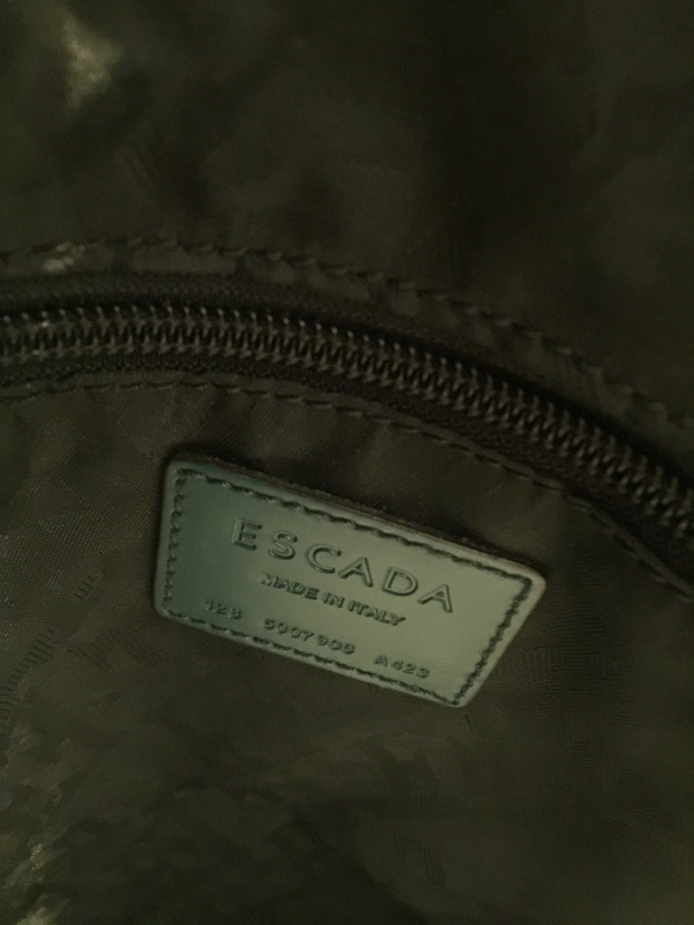 Mock Snake Tote Bag by Escada