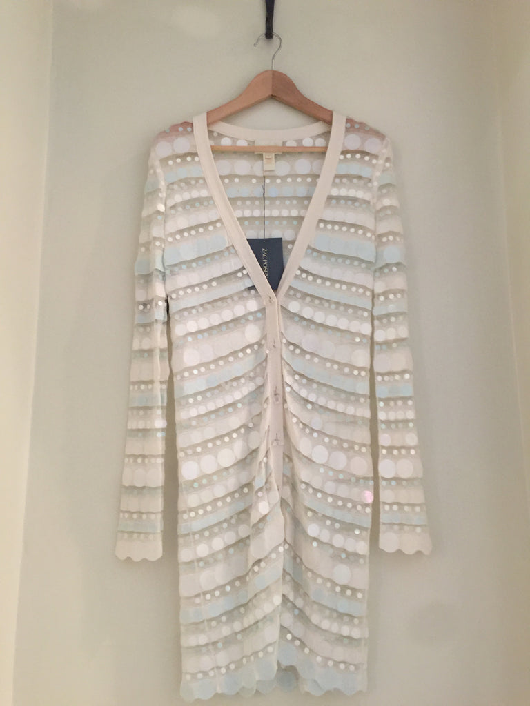 Neapolitan Knit Cardigan by Zac Posen