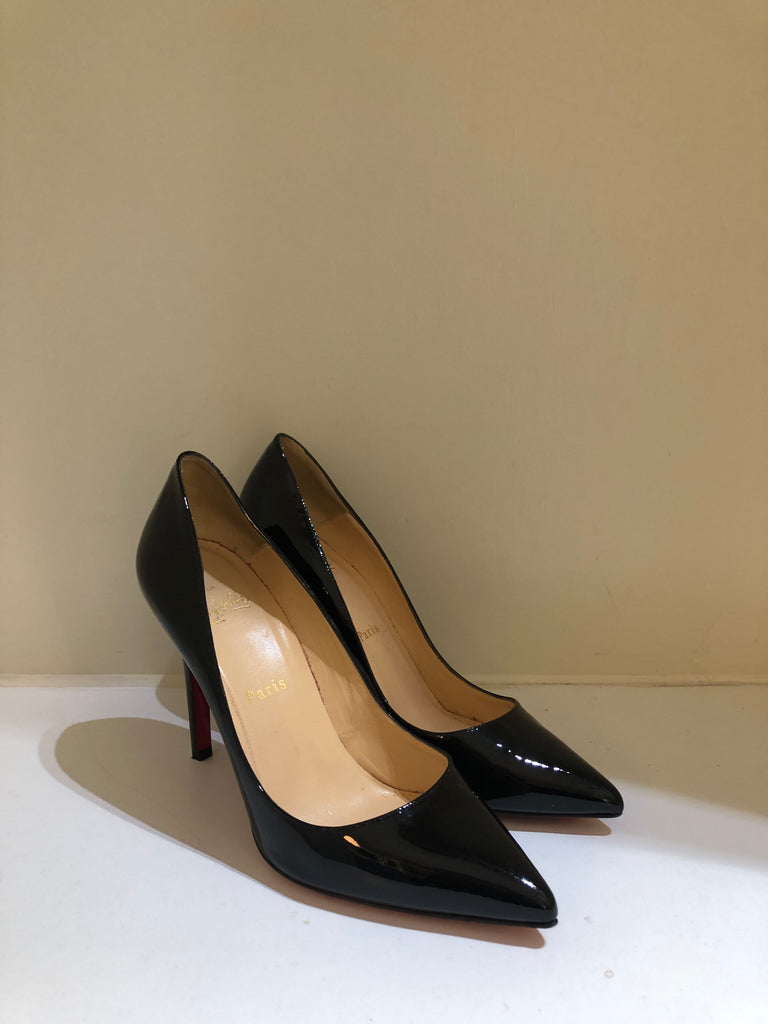 Patent Pigalle 100 Pumps by Christian Louboutin