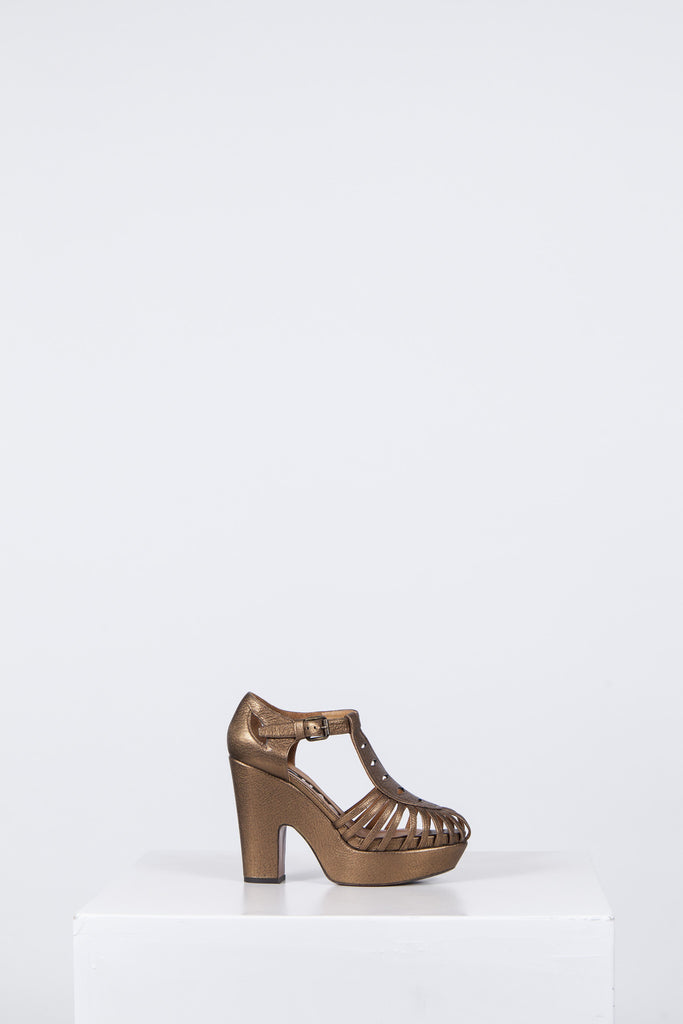 Yosemite cut-out sandals by Rochas