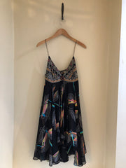 Dragonfly Silk Dress by Matthew Williamson at Isabella's Wardrobe