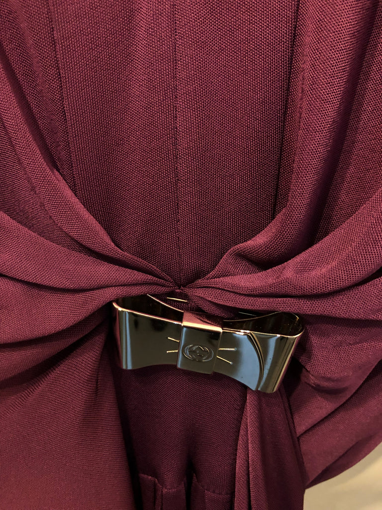 Wrap Belted Dress by Gucci