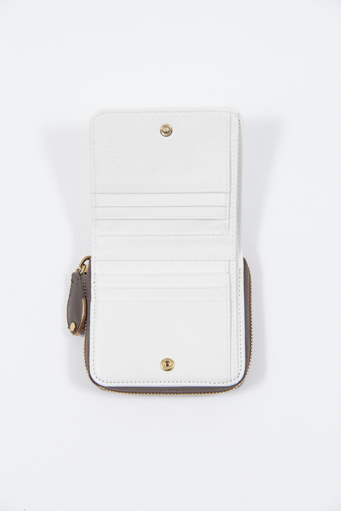 Small two-tone wallet by Nina Ricci