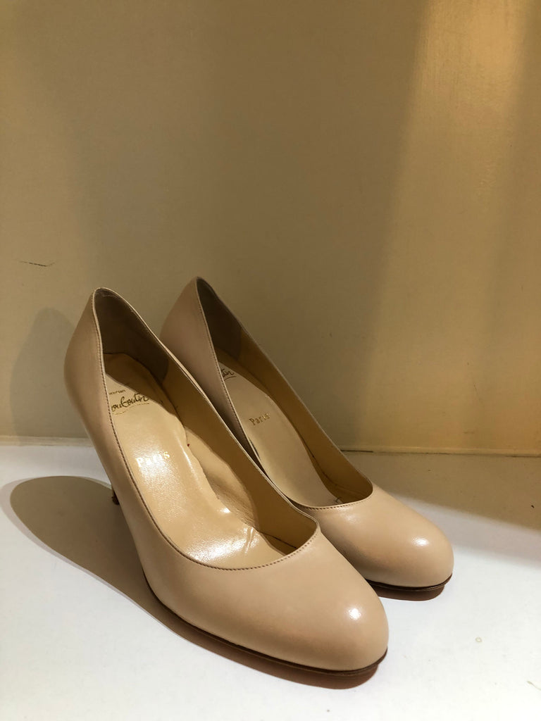 Nude Simple Pump 85 by Christian Louboutin