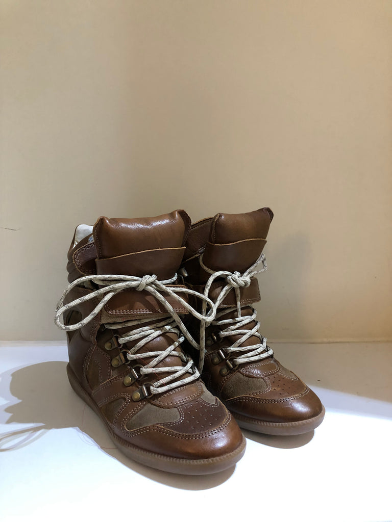 Bobby Wedge Trainers by Isabel Marant Etoile