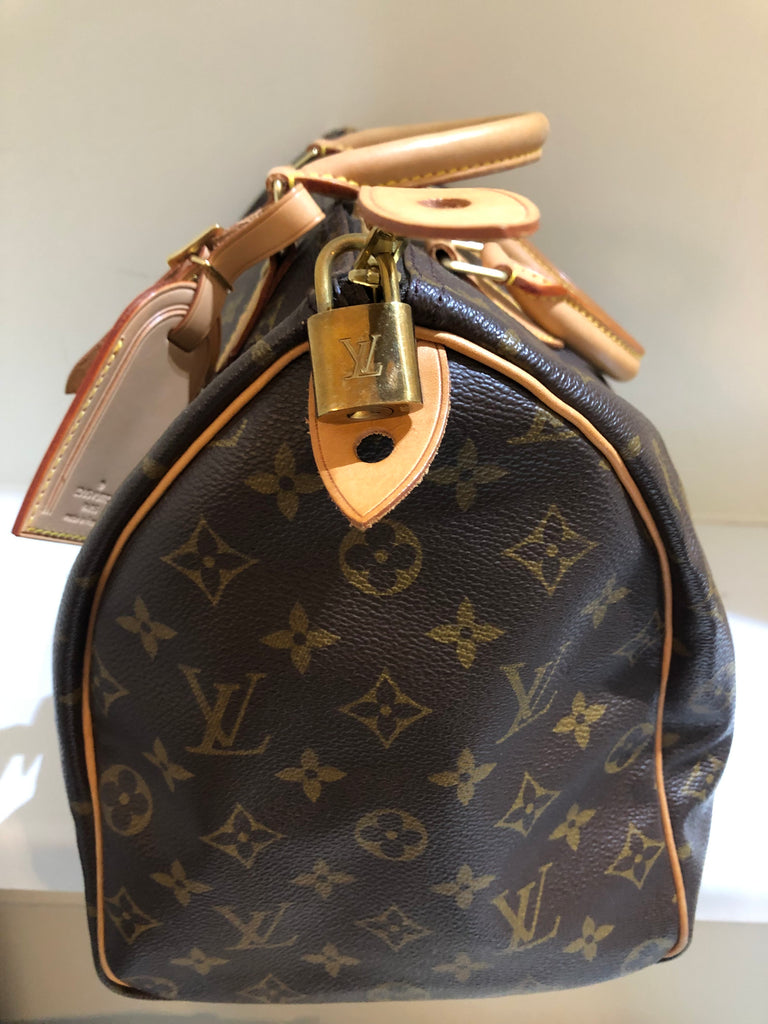 Monogram Speedy 35 by Louis Vuitton