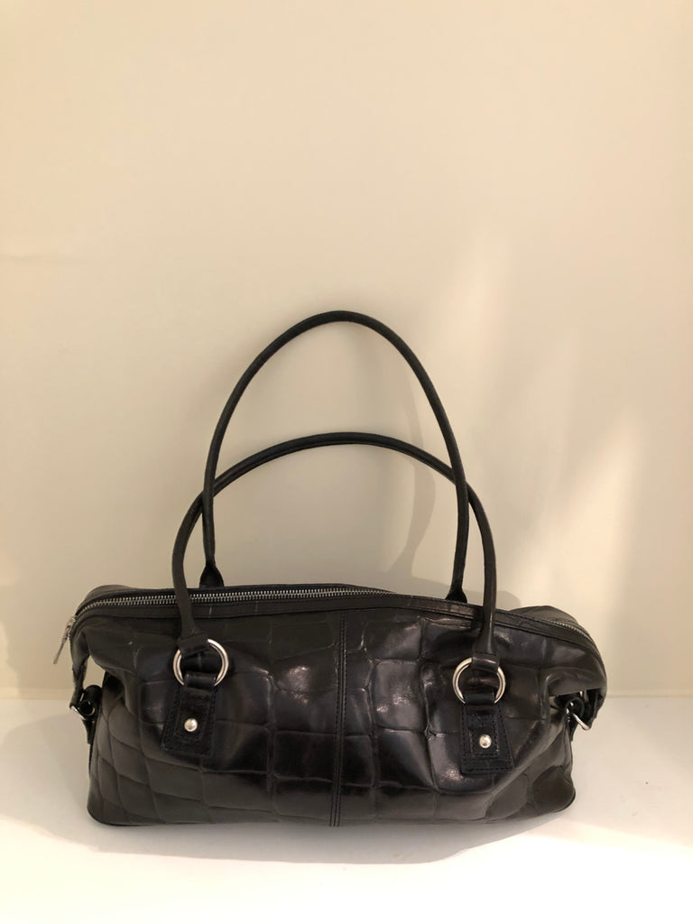 Vintage Congo Lena Baquette Shoulder Bag by Mulberry