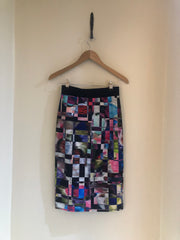 Abstract Multicoloured Skirt by Milly at Isabella's Wardrobe