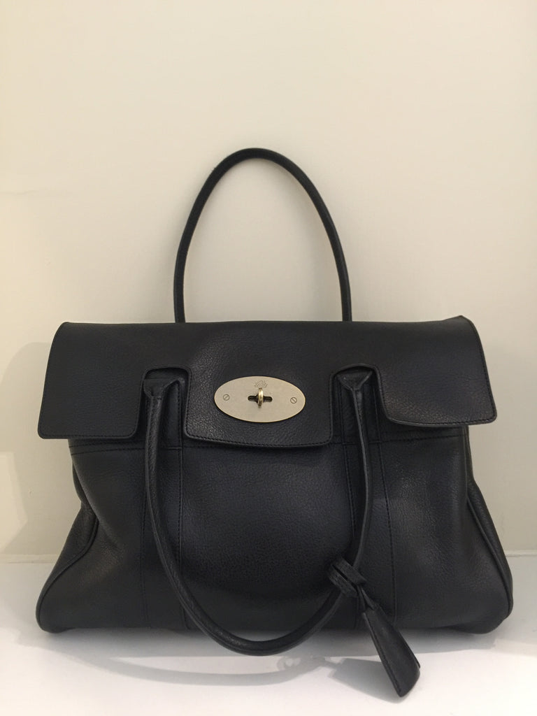 Vintage Black Bayswater by Mulberry