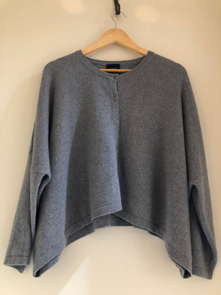 Box Cashmere Cardigan by Nomad Atelier