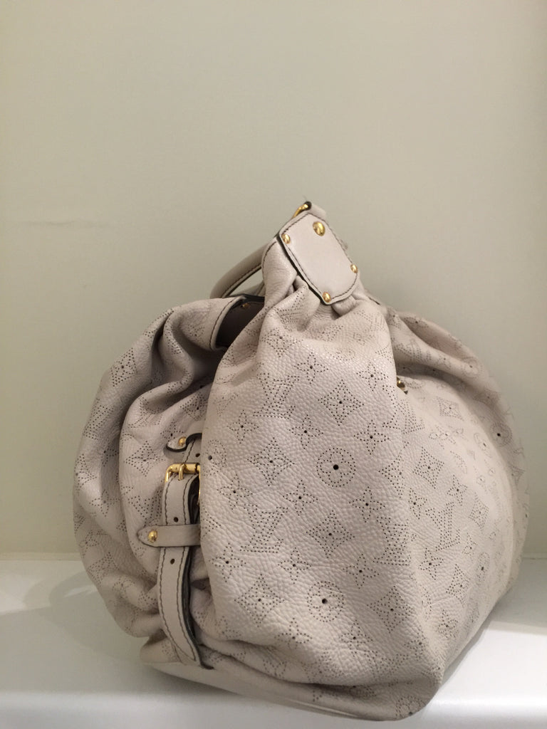 Monogram Mahina Leather L Bag by Louis Vuitton