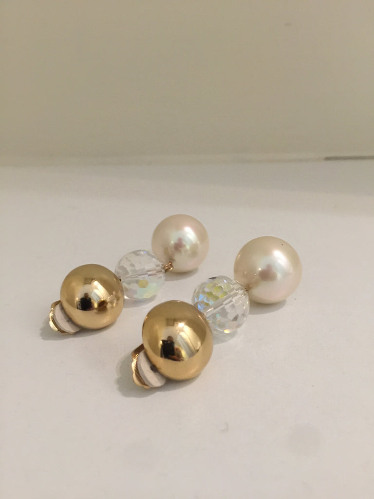 Ball Drop Earrings by Christian Dior