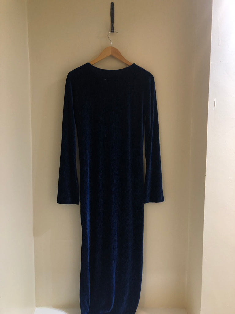 Textured Maxi Dress by Martin Margiela