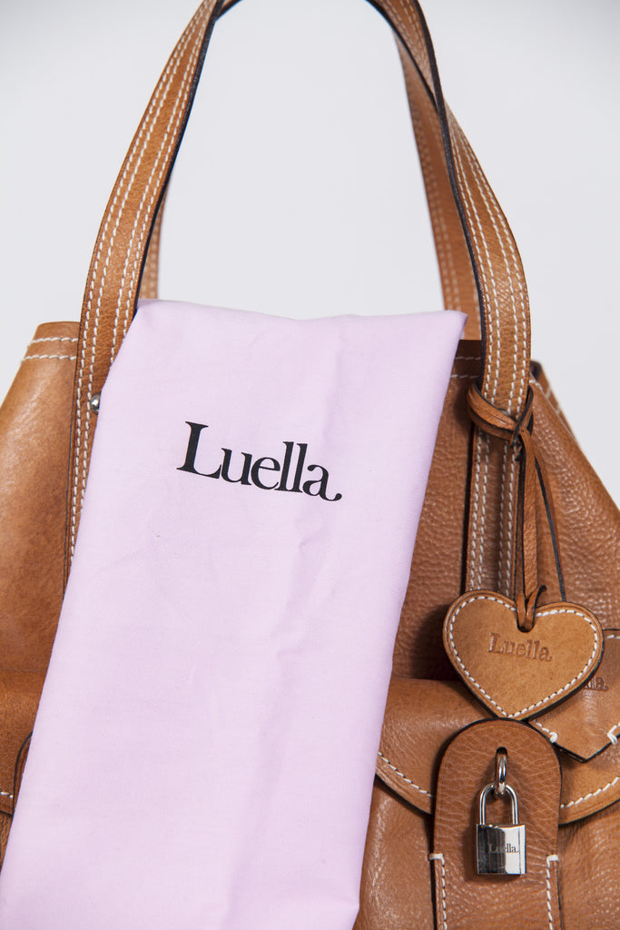 Padlocked pocket bag by Luella