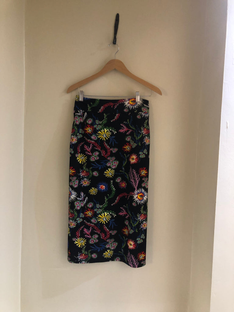 Multi Coloured Floral Skirt Suit by Pinko