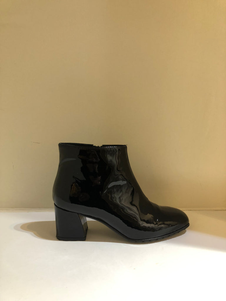 Patent Ankle Boots by Lisa Kay