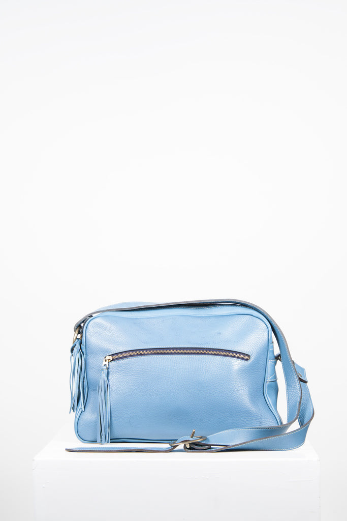 Roomy shoulder bag by J & M Davidson