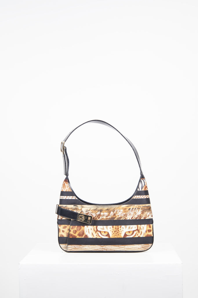 Jungle print handbag by Salvatore Ferragamo