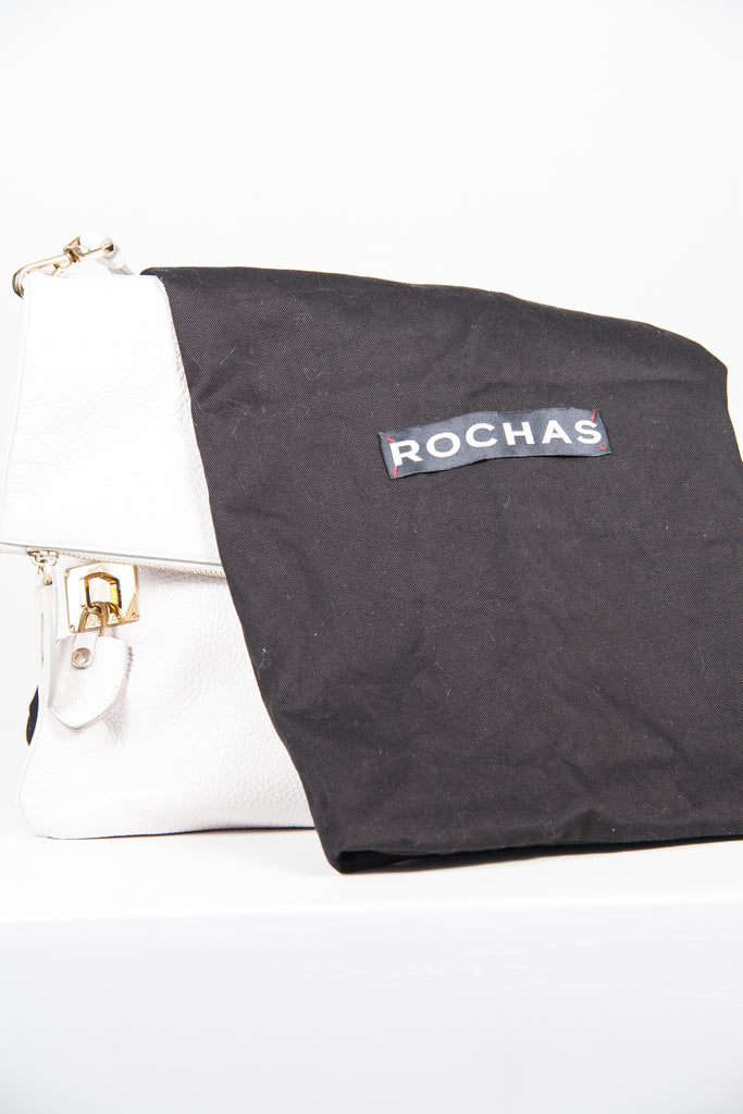 Flapover shoulder bag by Rochas