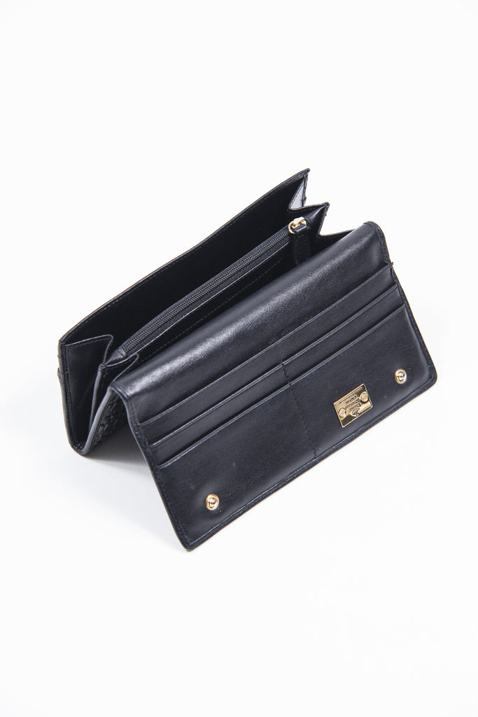 Patent logo wallet by Vivienne Westwood Anglomania